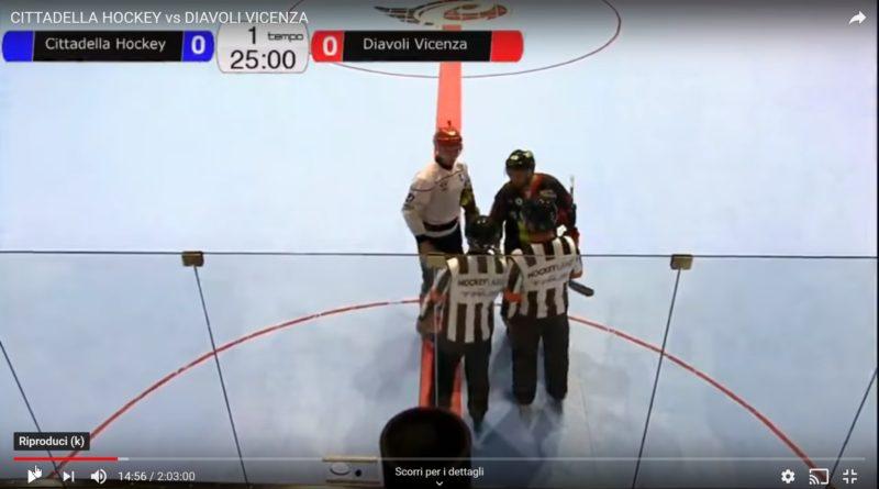 CITTADELLA HOCKEY vs DIAVOLI VICENZA Quarti di finale playoff – GARA 2